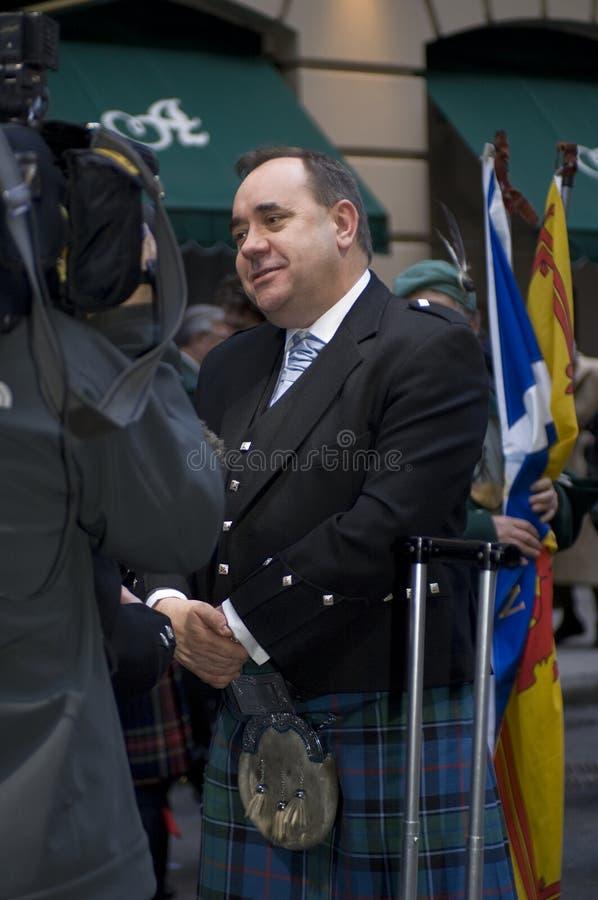 Alex Salmond fotografía de archivo libre de regalías