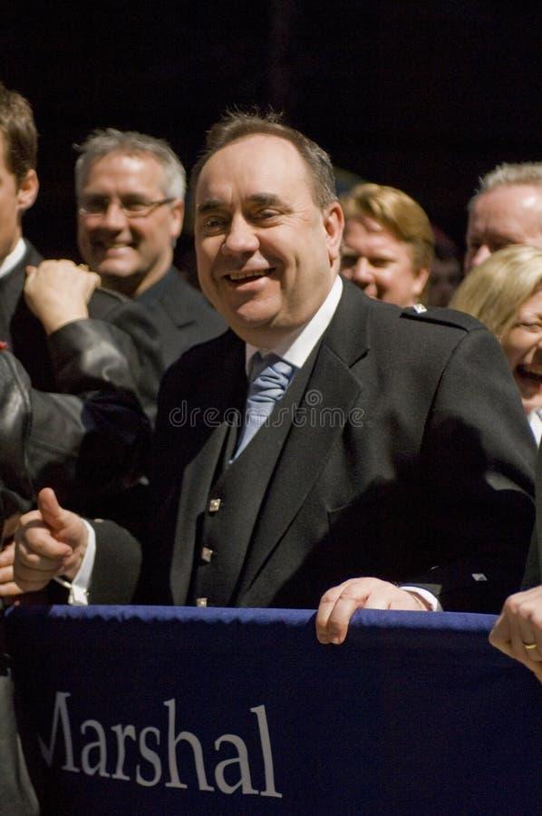 Alex Salmond image stock
