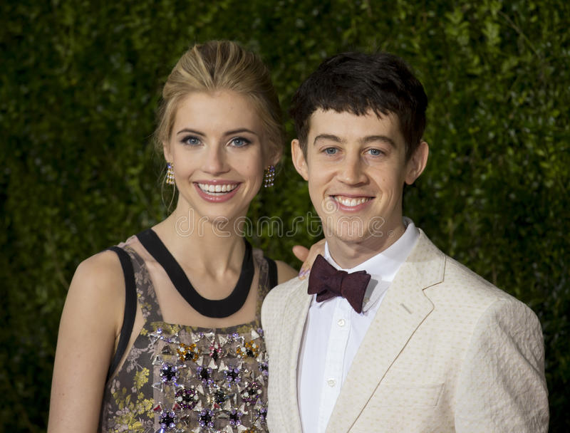 Alex Sharp chez Tony Awards 2015 photos libres de droits