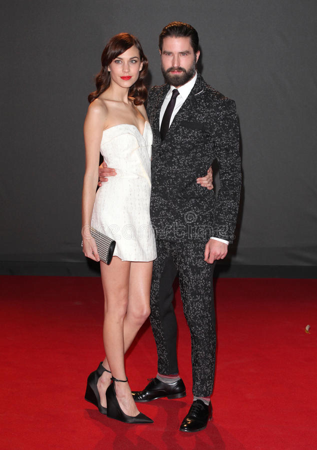 Alexa Chung,Guines. Alexa Chung and Jack Guinness arriving for the 2013 British Fashion Awards, at The London Coliseum, London. 02/12/2013 Picture by: Alexandra stock photos