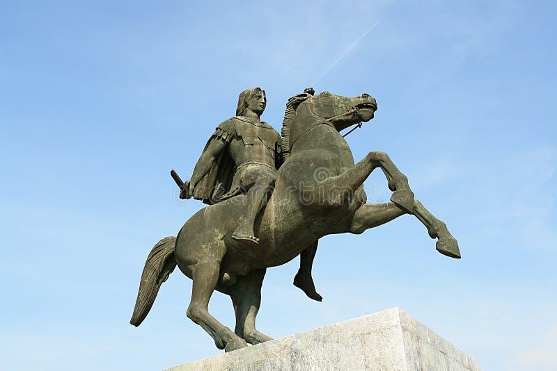 alexander royaltyfri bild