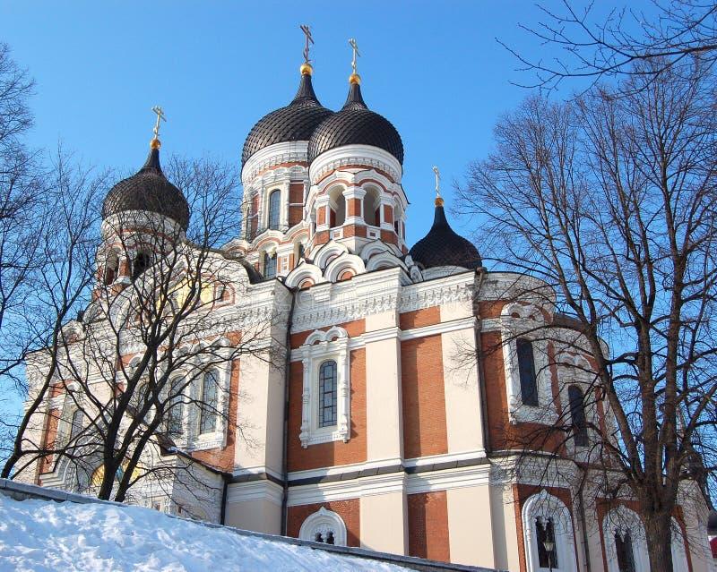 Alexander 2 katedra nevsky obrazy stock
