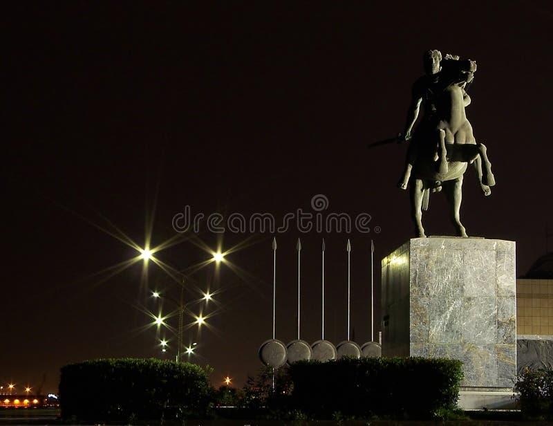 Alexander der Große stockbild