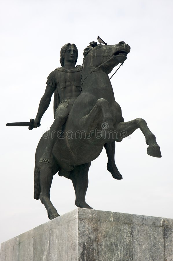 Alexander der Große stockfoto