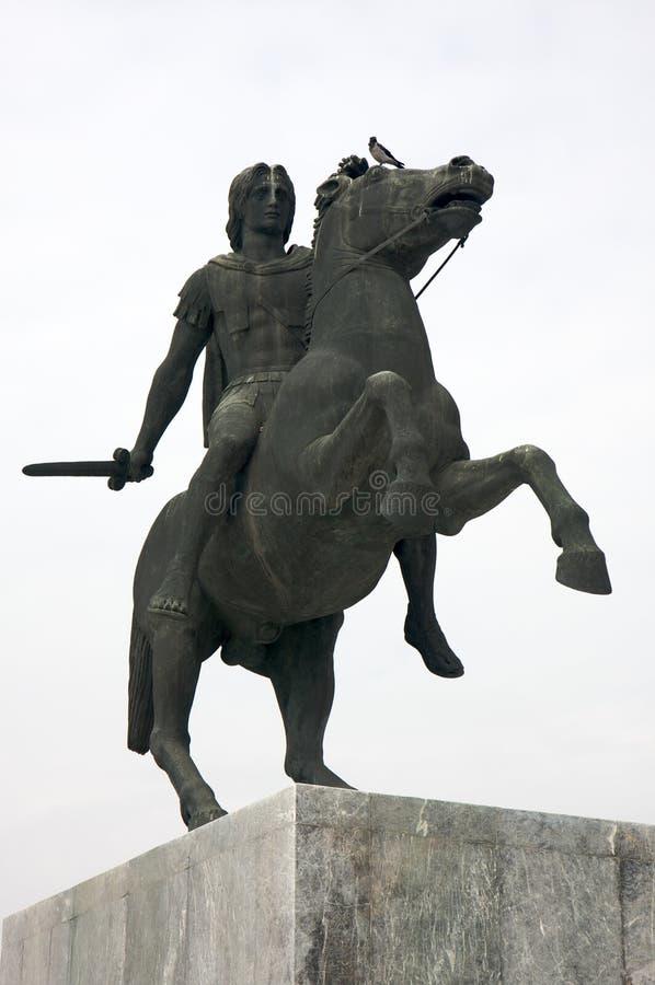 Alexander el grande foto de archivo