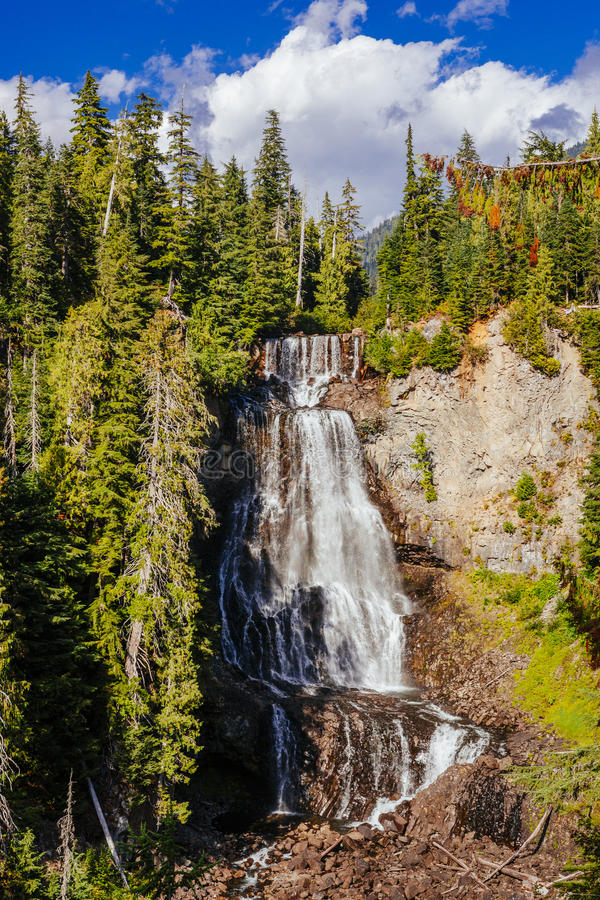 Alexander Falls, British Columbia, Canada stock photos
