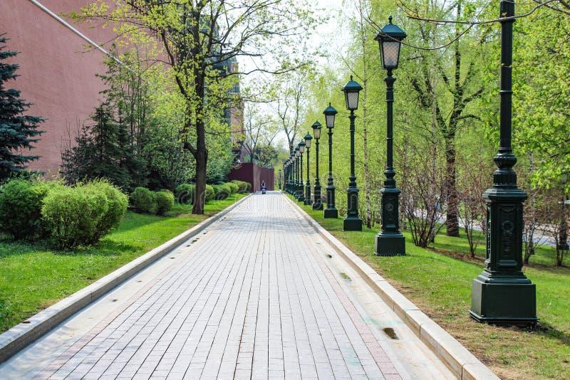Alexander Garden, camino que camina fotografía de archivo libre de regalías