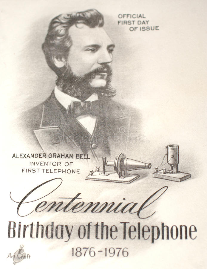 Download Alexander Graham Bell Commemorated Editorial Image - Image: 20349830