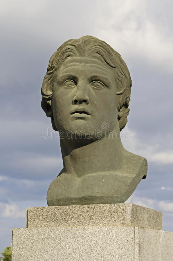Alexander The Great Statue Royalty Free Stock Image