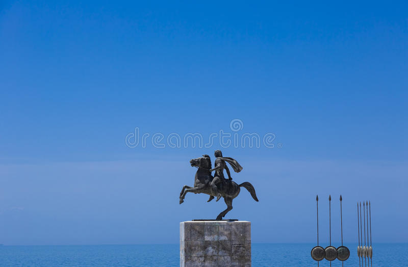 Alexander the Great royalty free stock photography