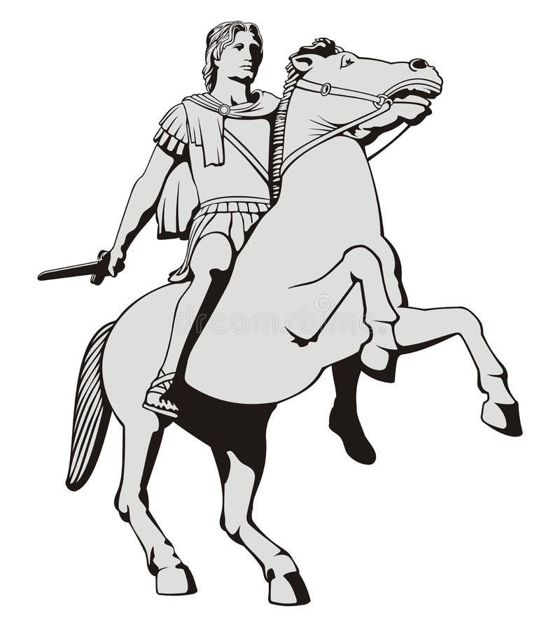 Alexander Groot stock illustratie