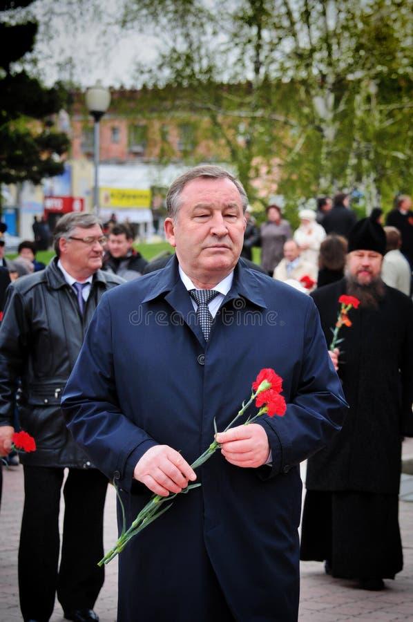 Alexander Karlin-Member del consejo de la federación de la asamblea federal de la Federación Rusa franco imagenes de archivo