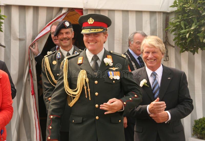 alexander książę koronny Willem zdjęcie royalty free