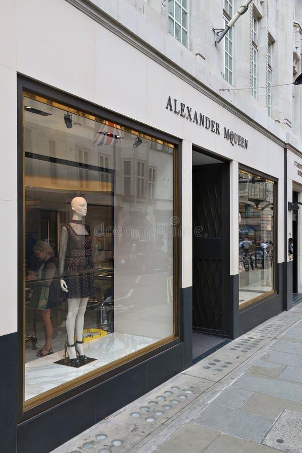 Alexander McQueen stockfotos