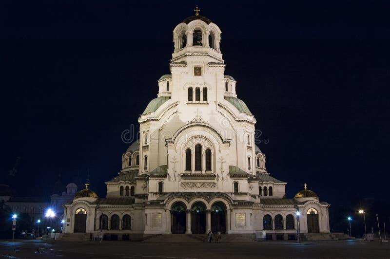 Alexander Nevski Cathedral lizenzfreie stockfotografie