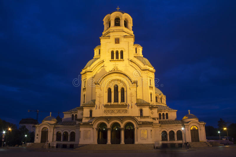 Alexander Nevski Cathedral royalty-vrije stock fotografie