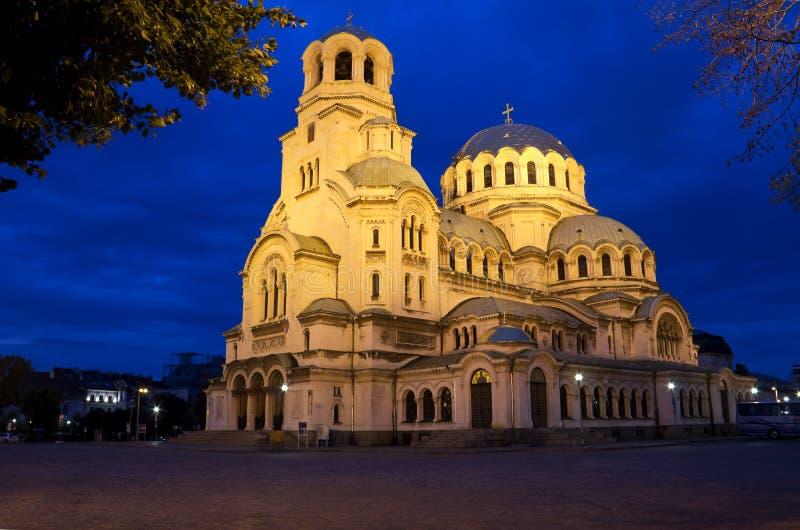 Alexander Nevski Cathedral stock foto