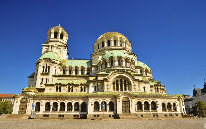 Alexander Nevski Cathedral/Aleksander Nevsky. Alexander Nevski Cathedral in Sofia, Bulgaria stock photography