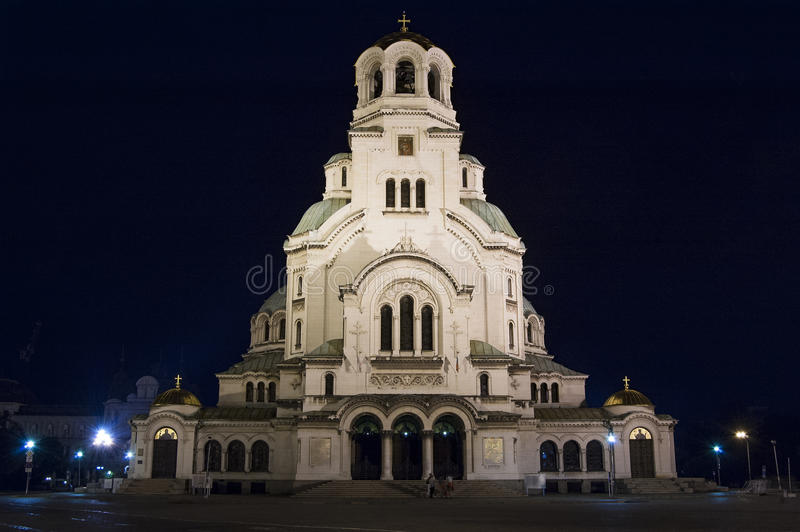 Alexander Nevski Cathedral. In Sofia, Bulgaria royalty free stock photography