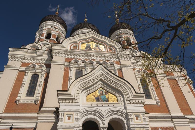 Alexander Nevski Cathedral, Tallin lizenzfreies stockfoto