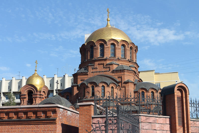 Alexander Nevski-Kathedrale in Russland lizenzfreies stockfoto