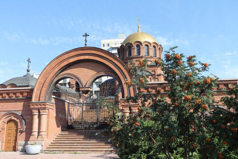 Alexander Nevski-Kathedrale in Russland stockbild