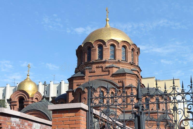 Alexander Nevski-Kathedrale in Russland stockbilder