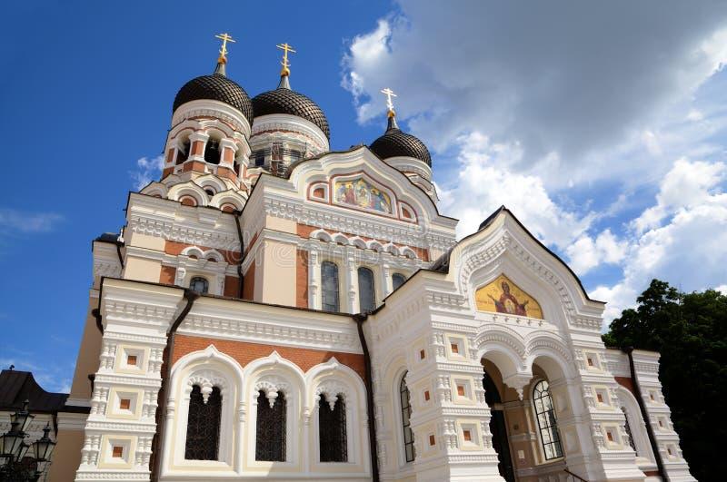 Alexander Nevsky Cathedral. imagen de archivo libre de regalías