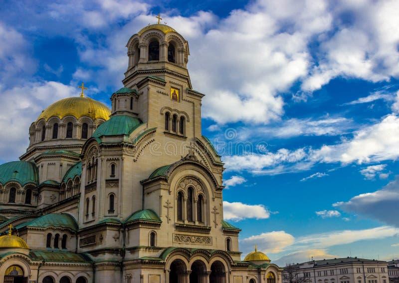 Alexander Nevsky Cathedral. Sofia Bulgaria Alexander Nevsky Cathedral royalty free stock photography