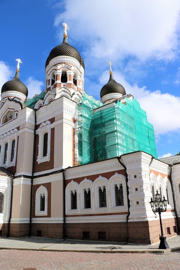 Alexander Nevsky Cathedral, Tallinn, Estonia foto de archivo libre de regalías