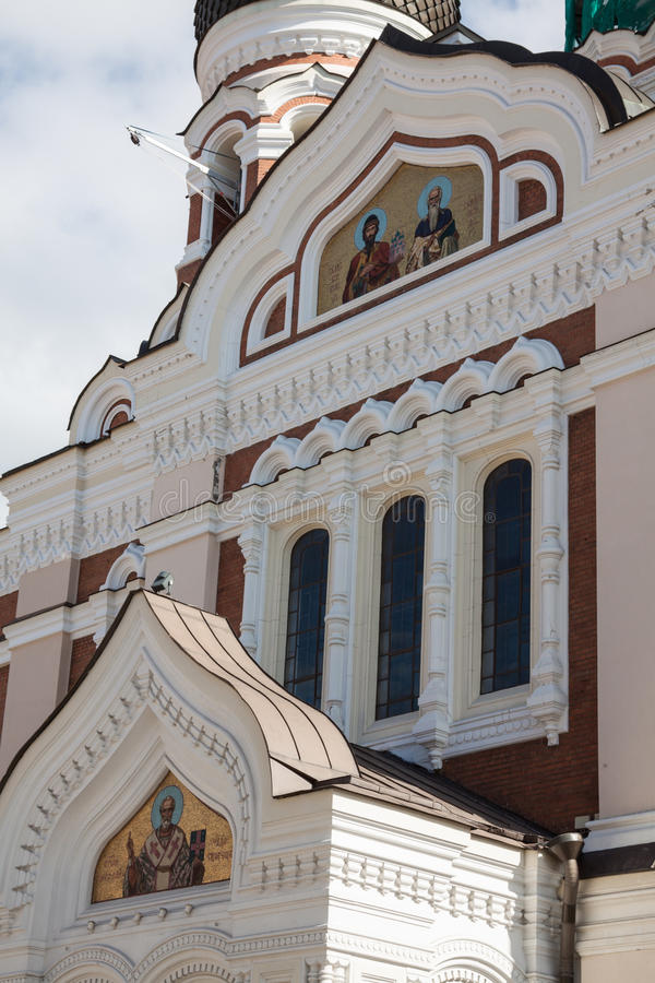 Alexander Nevsky Cathedral. Tallinn, Estonia fotografie stock libere da diritti