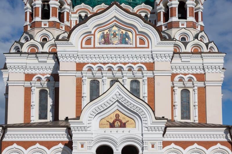 Alexander Nevsky Cathedral. Tallinn, Estonia fotografia stock libera da diritti
