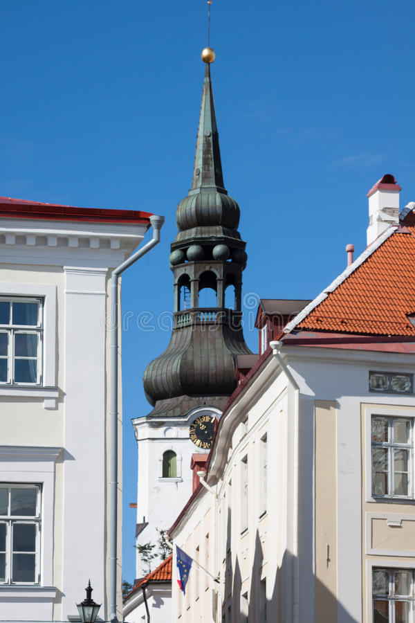 Alexander Nevsky Cathedral. Tallinn, Estonia immagini stock