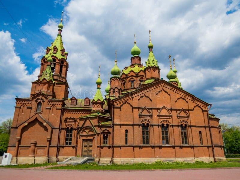 Alexander Nevsky Church, Chelyabinsk, Russia royalty free stock photo