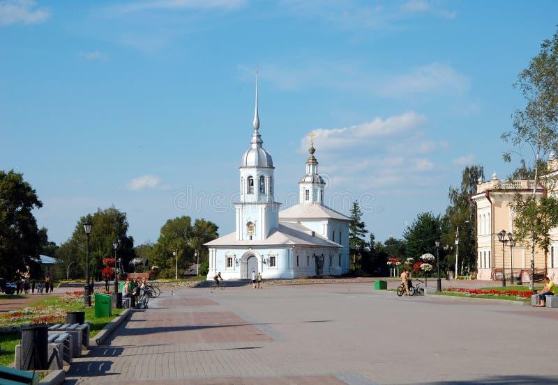 Alexander Nevsky Church dans Vologda, Russie image libre de droits