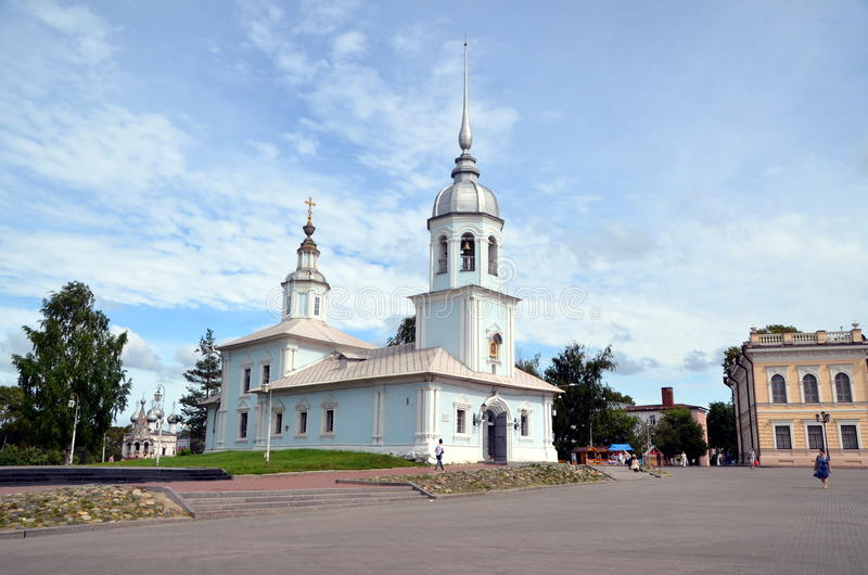 Alexander Nevsky Church dans Vologda, Russie photo stock