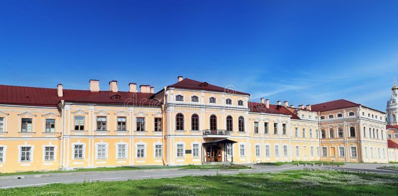 Alexander Nevsky Lavra (monasterio) en St Petersburg. imagen de archivo libre de regalías