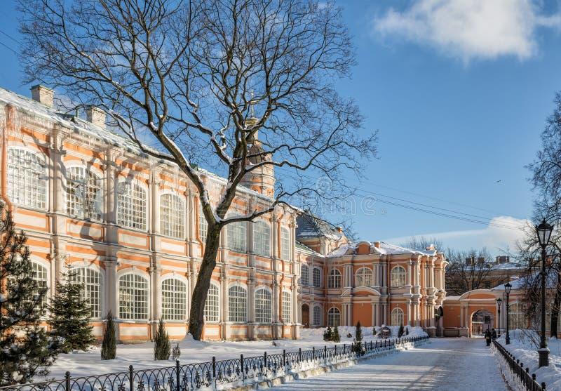 Alexander Nevsky Lavra, St Petersburg fotos de archivo