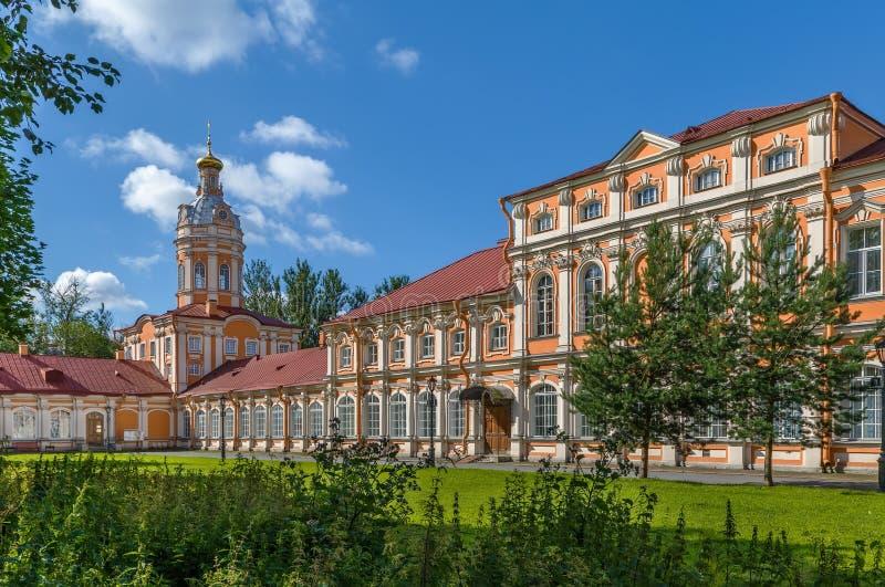 Alexander Nevsky Lavra, St Petersburg, Rússia fotografia de stock royalty free