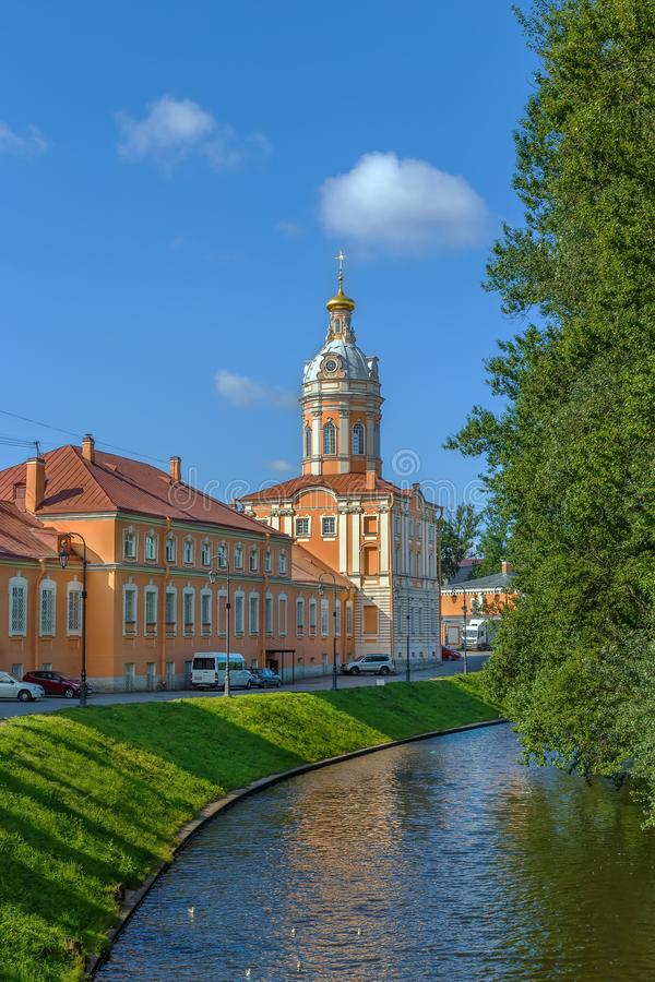 Alexander Nevsky Lavra, St Petersburg, Rusia fotografía de archivo