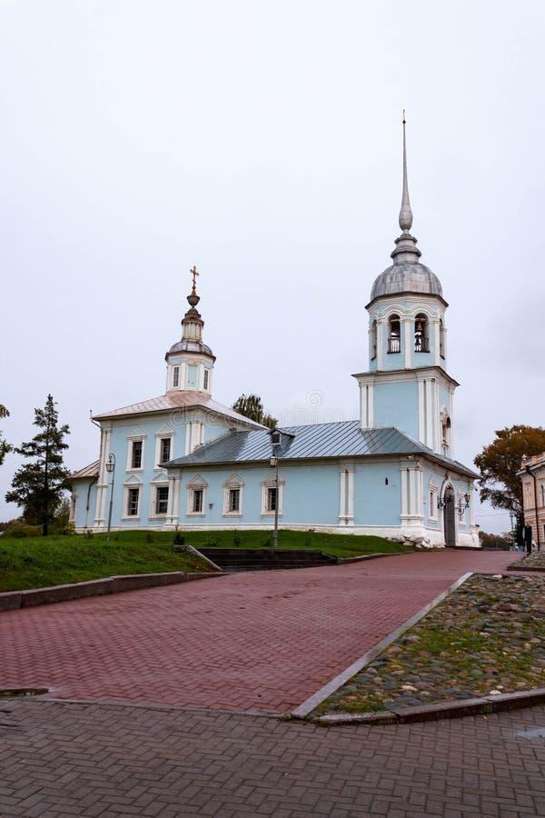 Alexander Nevsky Orthodox Church de Vologda, Rissia fotografía de archivo