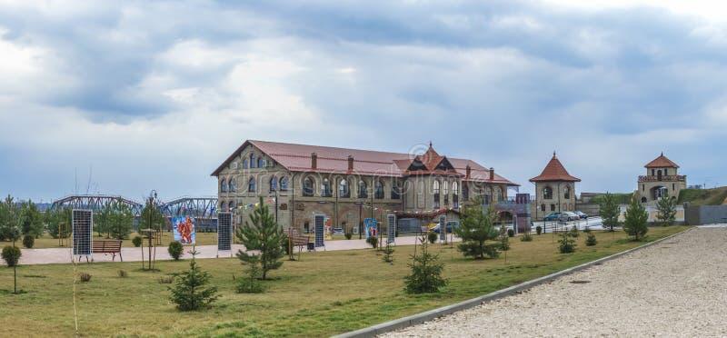 Alexander Nevsky Park in Buigmachine, Transnistria stock afbeelding