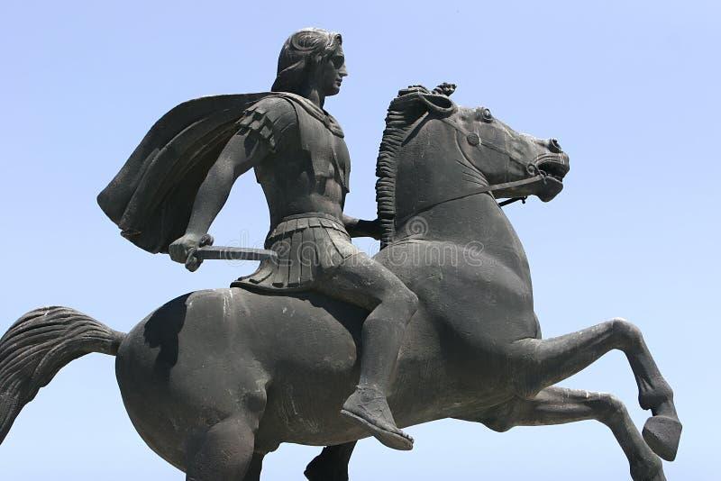 Alexander o grande imagens de stock royalty free