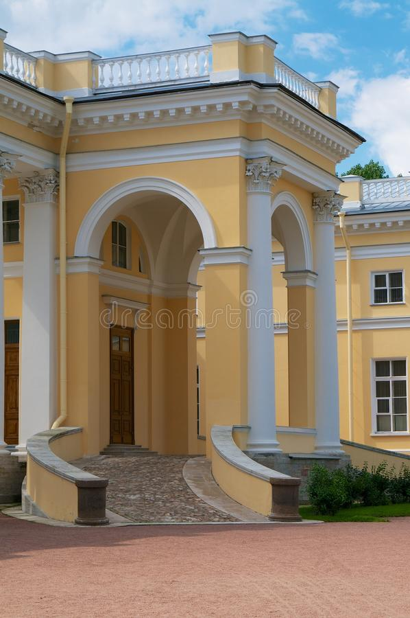 Download Alexander's Palace Entrance Stock Photo - Image of marble, destinations: 39504856