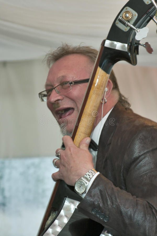 Alexander Sirtsov plays music stock images