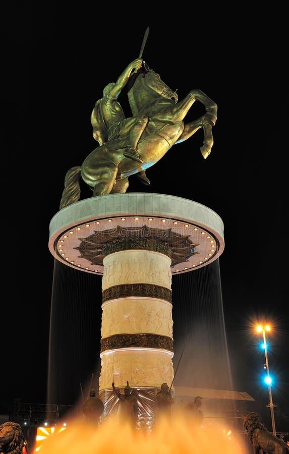 Alexander storen arkivfoto