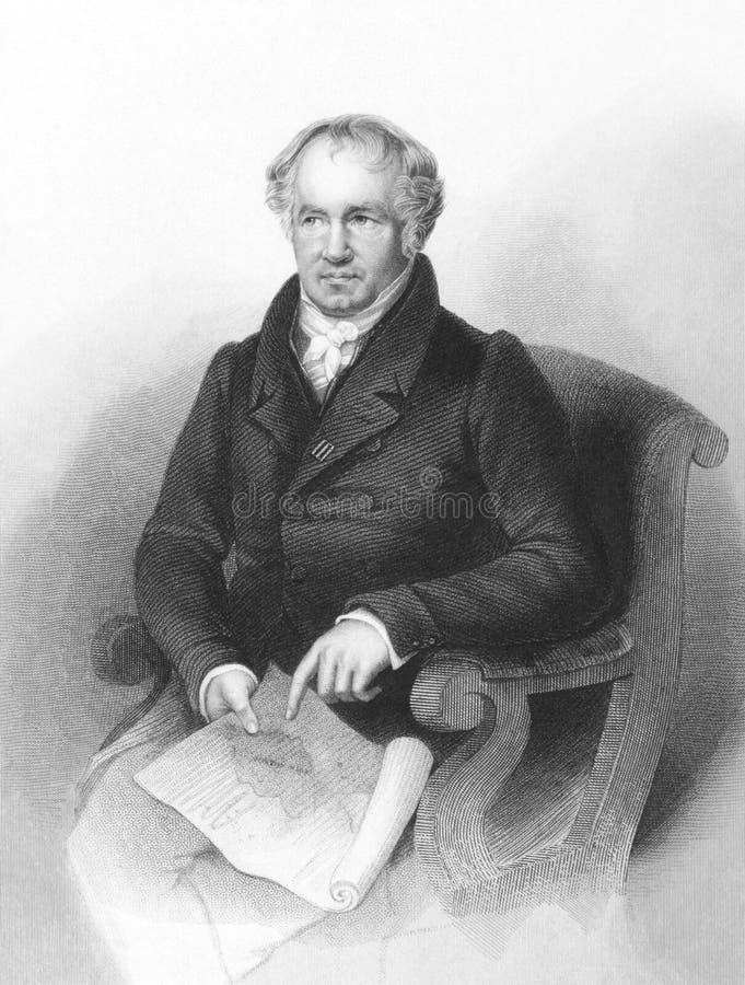 Alexander von Humboldt foto de archivo libre de regalías