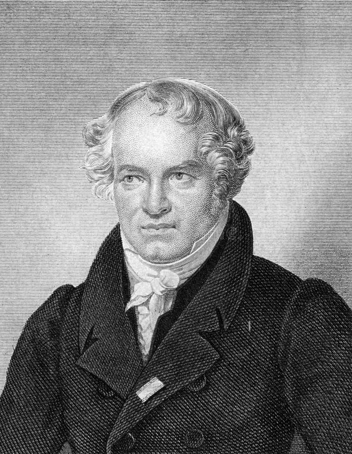 Alexander von Humboldt royaltyfria bilder