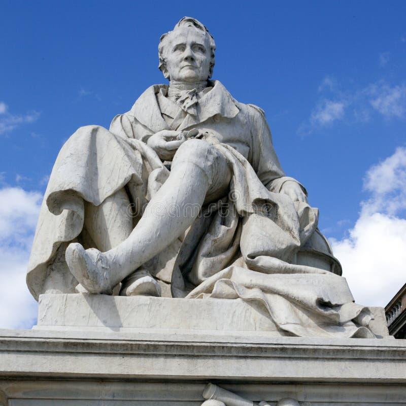 Alexander Von Humboldt Statue fotografía de archivo