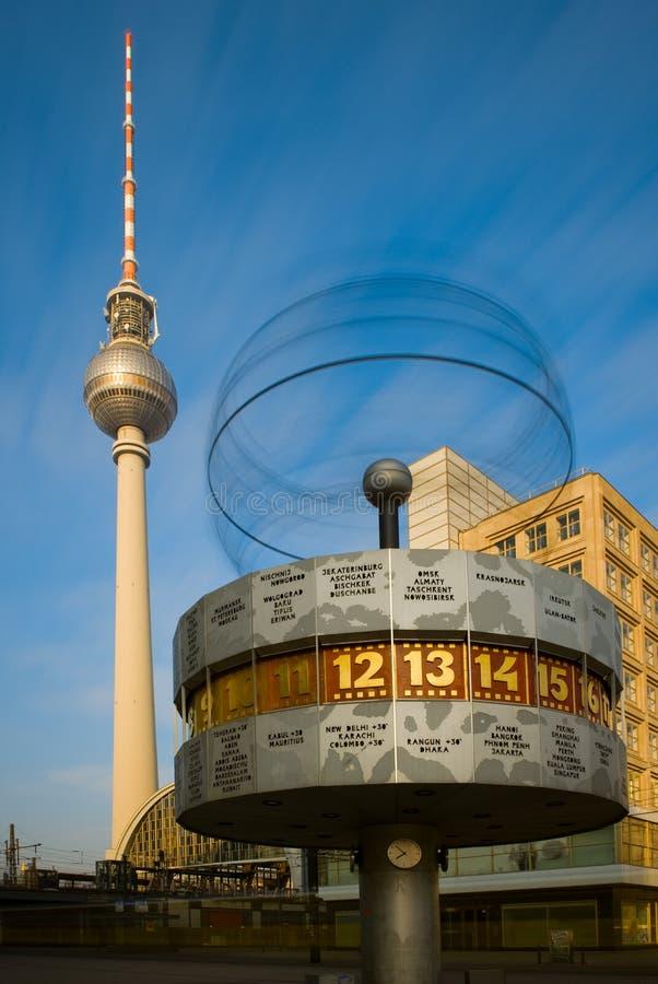 alexanderplatz柏林 免版税库存照片